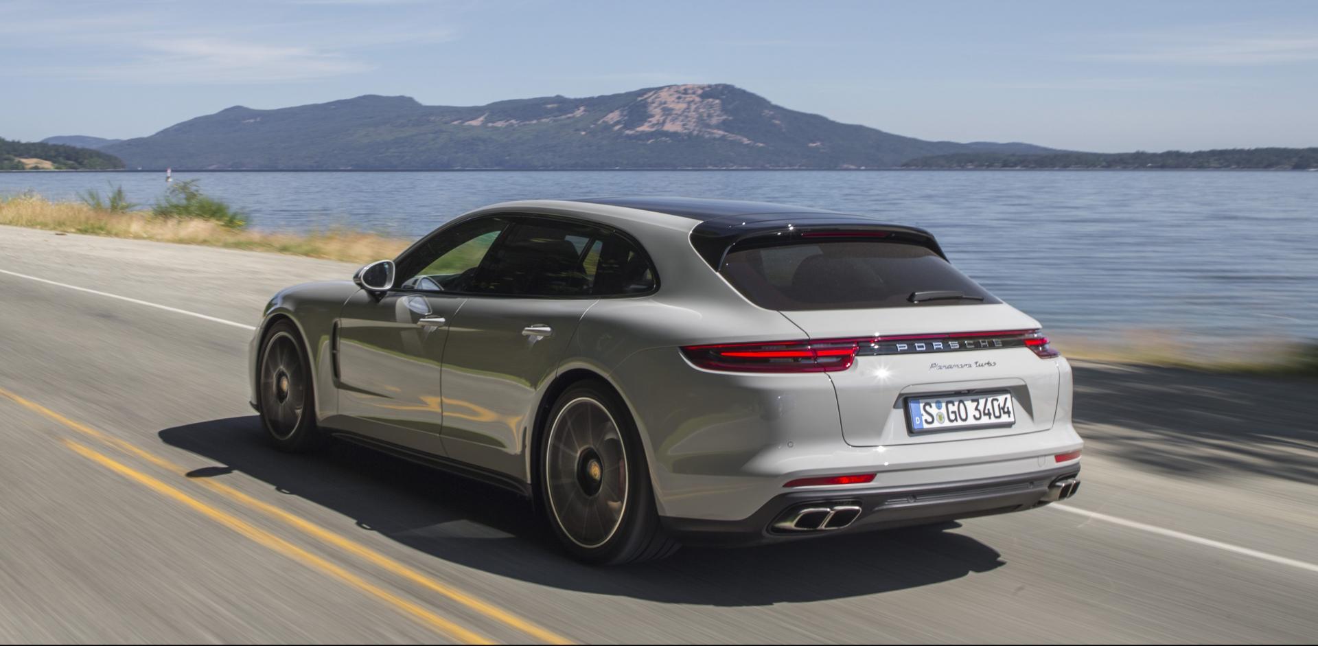 Porsche Panamera Sport Turismo 1e Rij Indruk Topgear