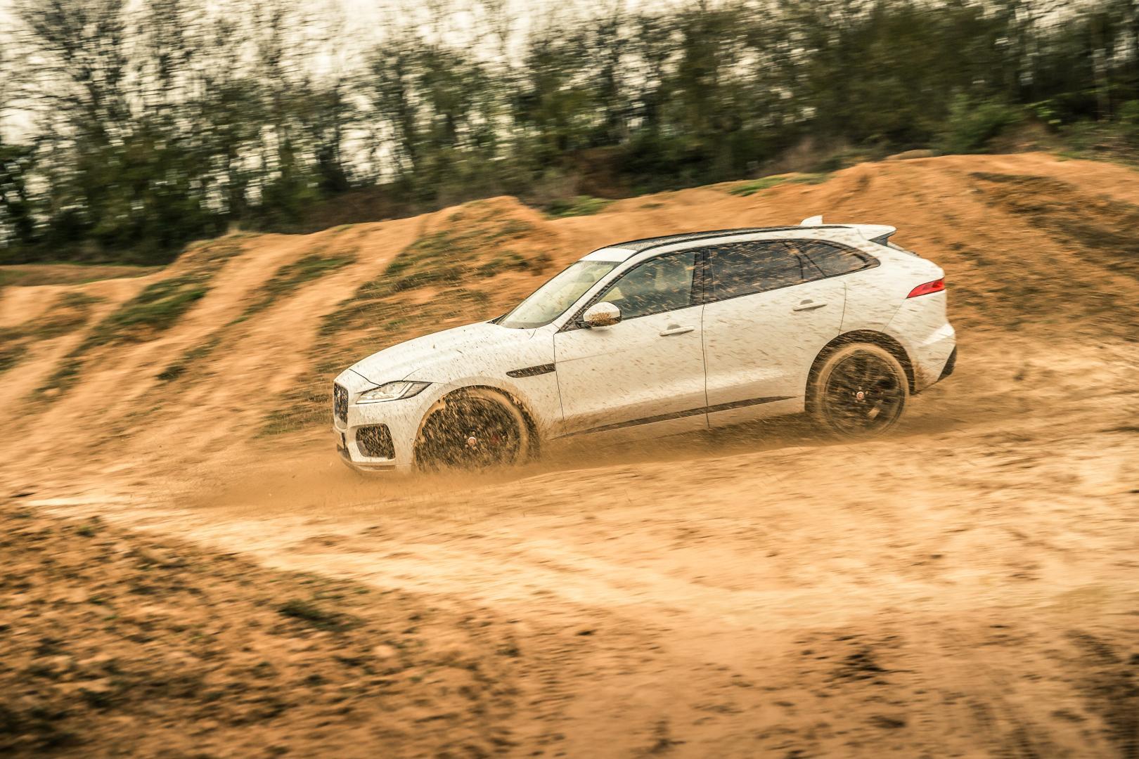 SUV-test: Terrein