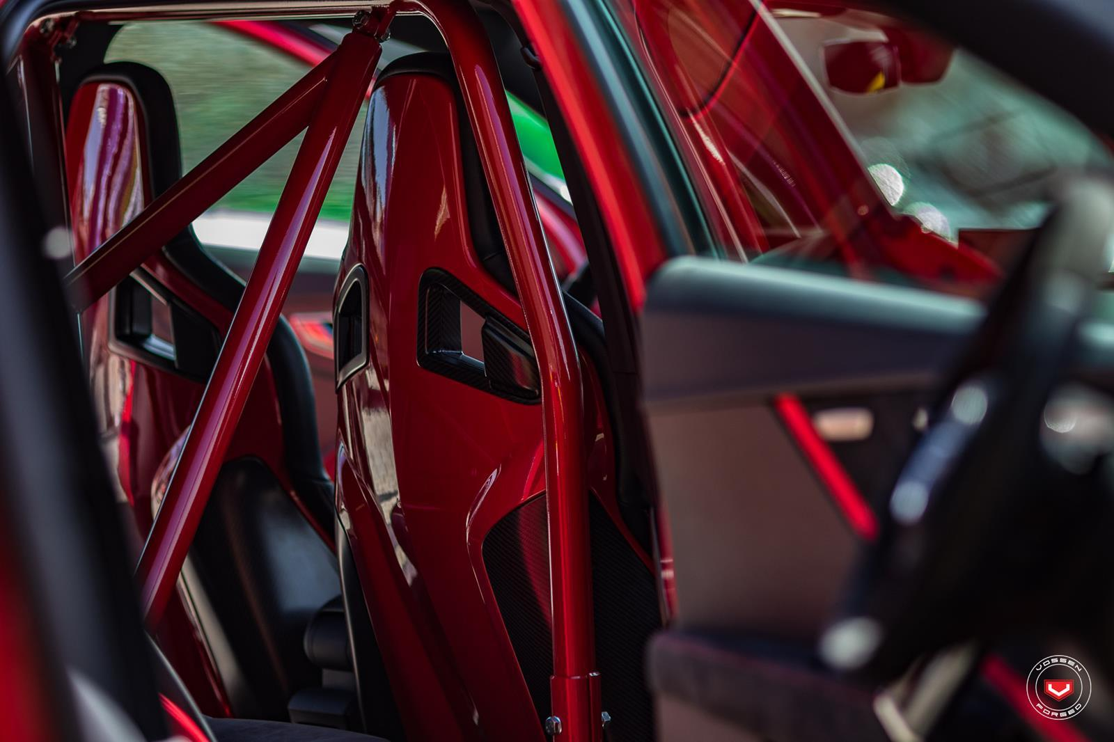 Audi Q2 met Vossen-velgen