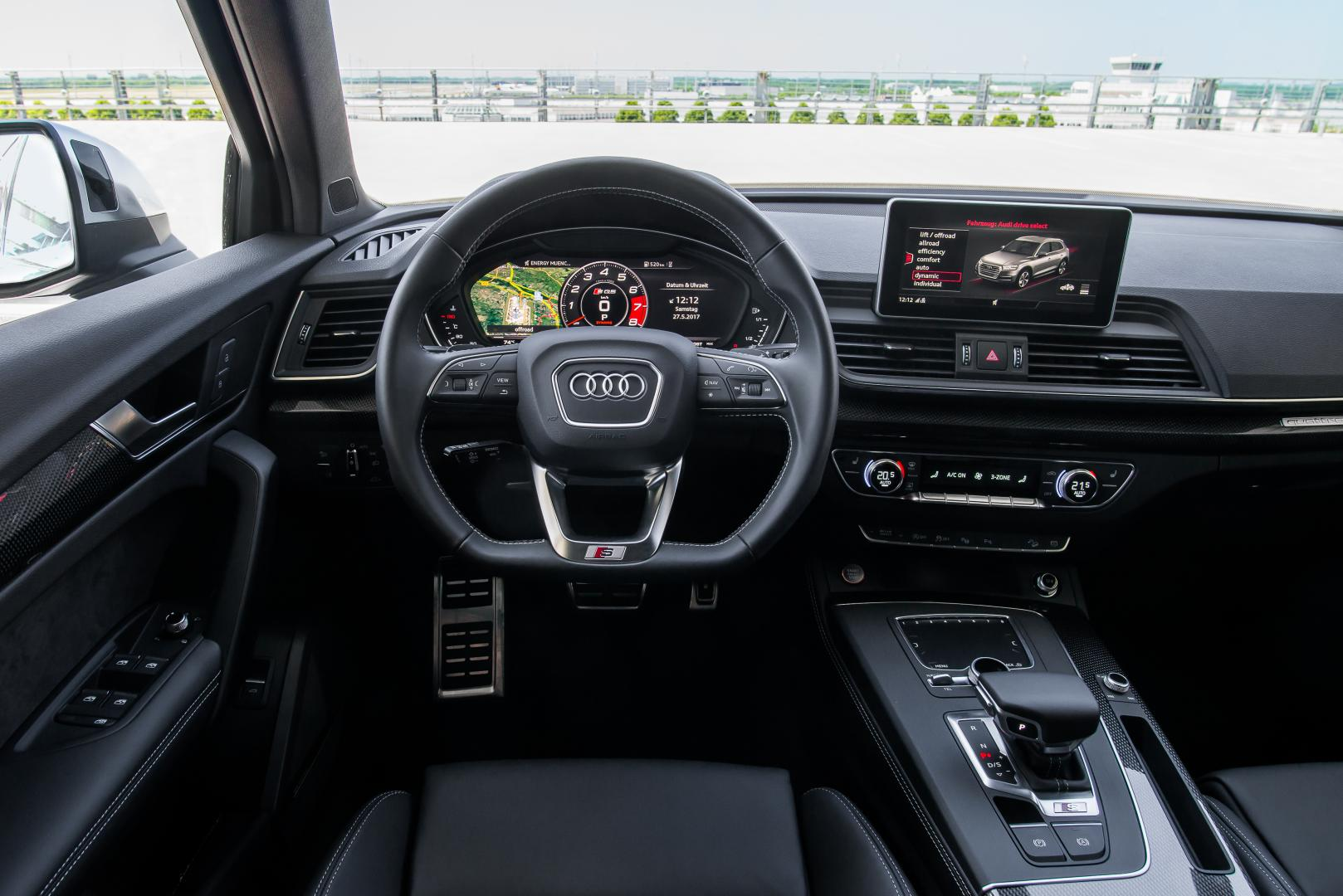 audi sq5 3 0 tfsi autotest en specificaties topgear nederland. Black Bedroom Furniture Sets. Home Design Ideas