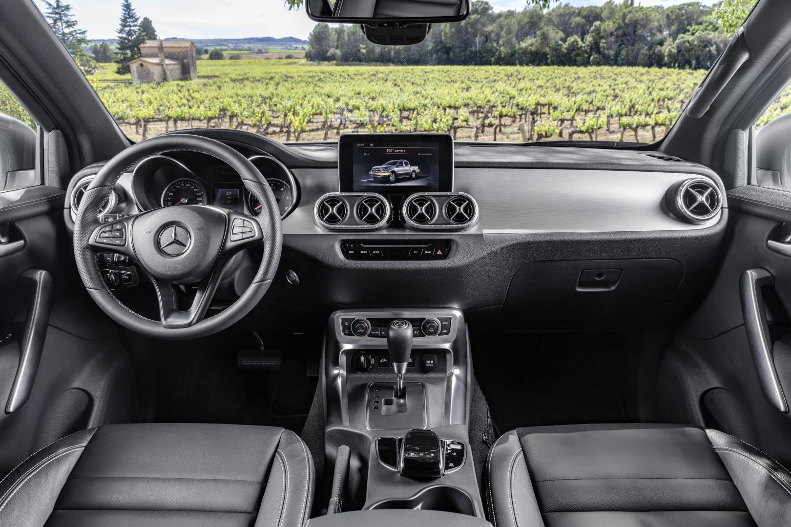 Mercedes X-klasse 2017