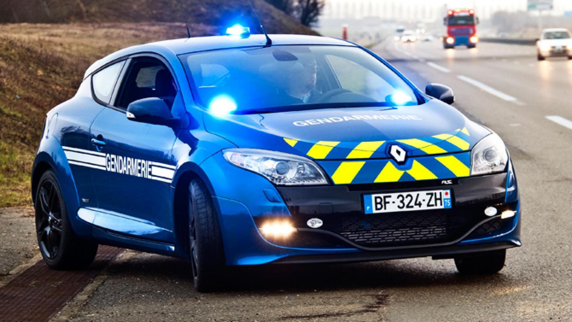 nep-politie in frankrijk