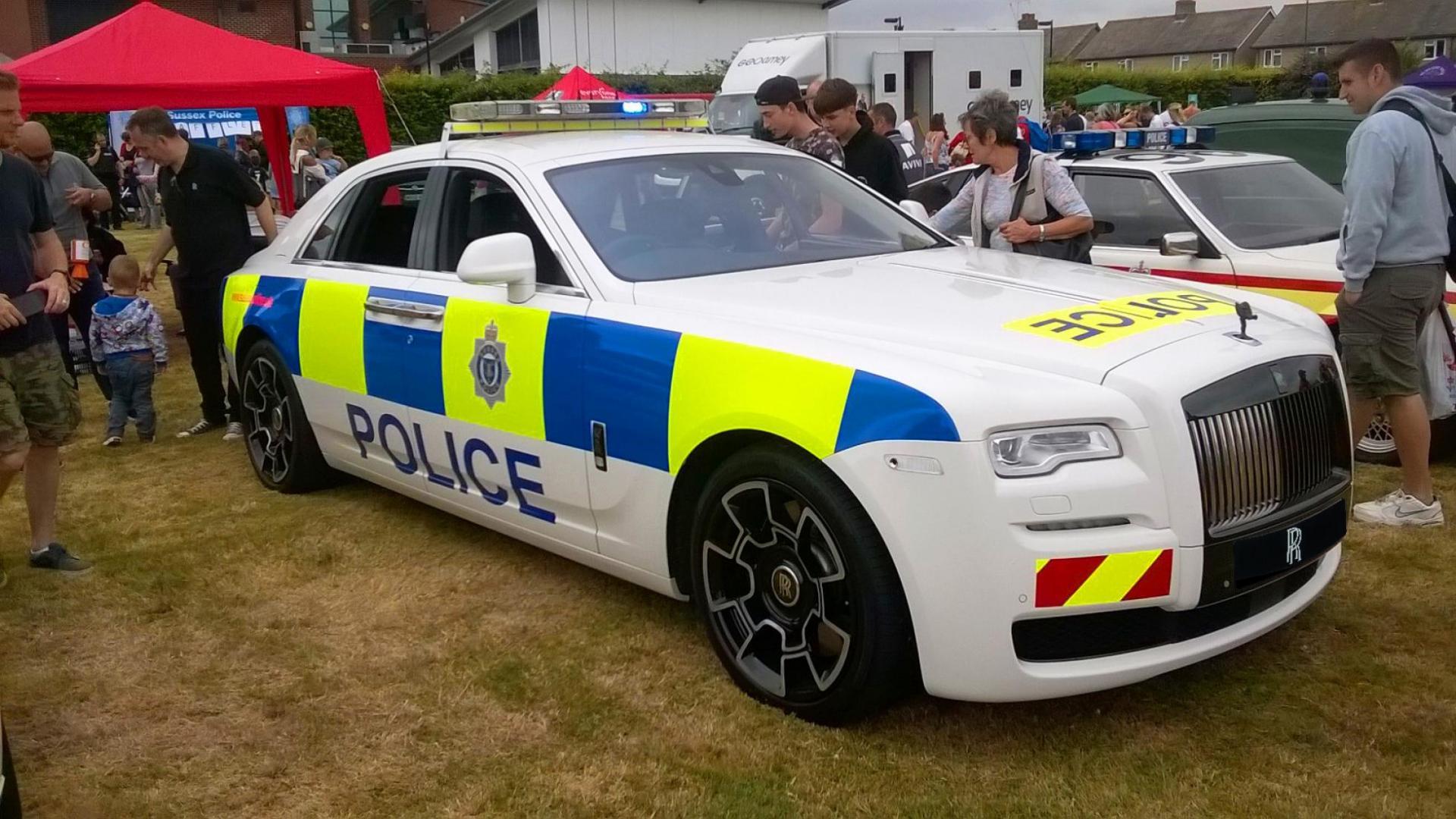 Rolls-Royce van de politie