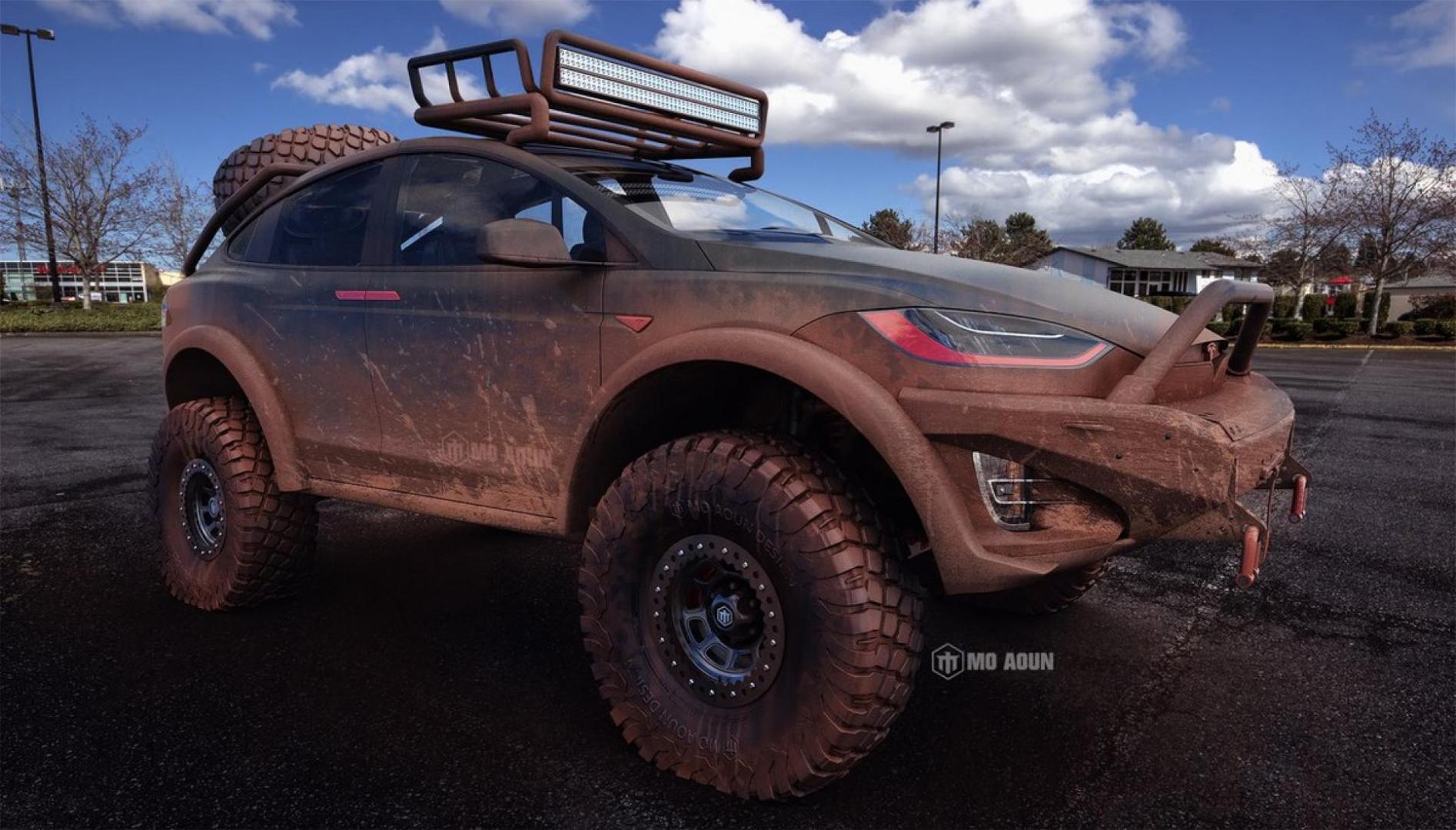 Dit Is Een Tesla Model X Dakar Topgear Nederland