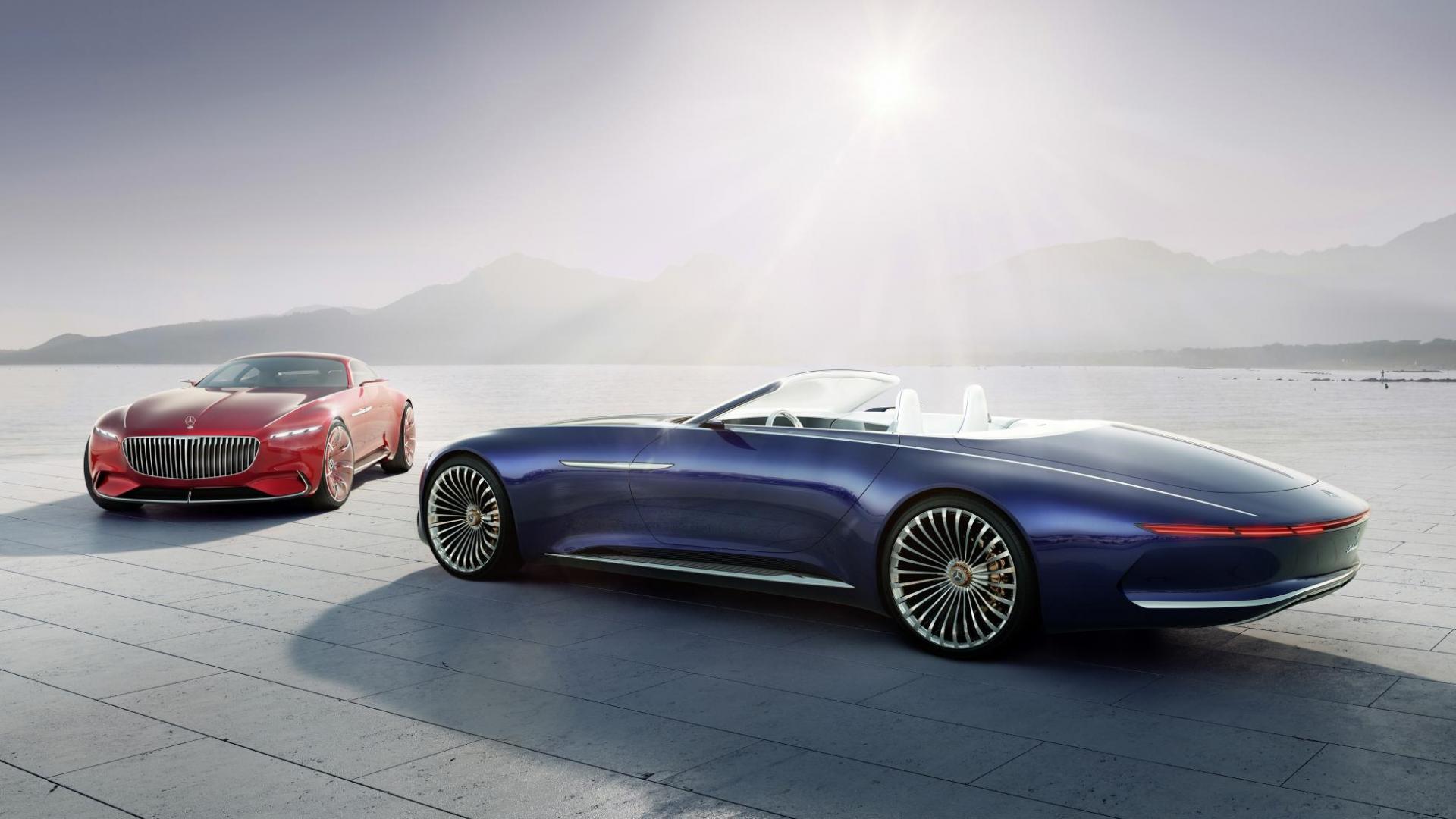 Vision Mercedes-Maybach 6 Cabrio