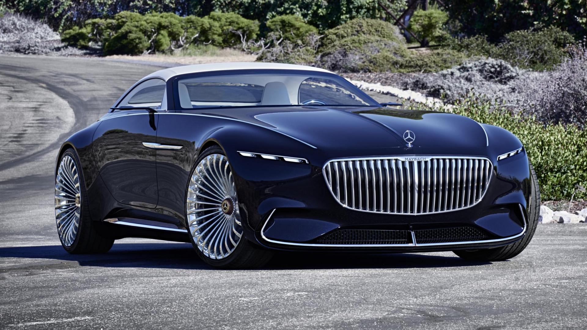 Dit is de vision mercedes maybach 6 cabrio topgear nederland for Mercedes benz top of the line