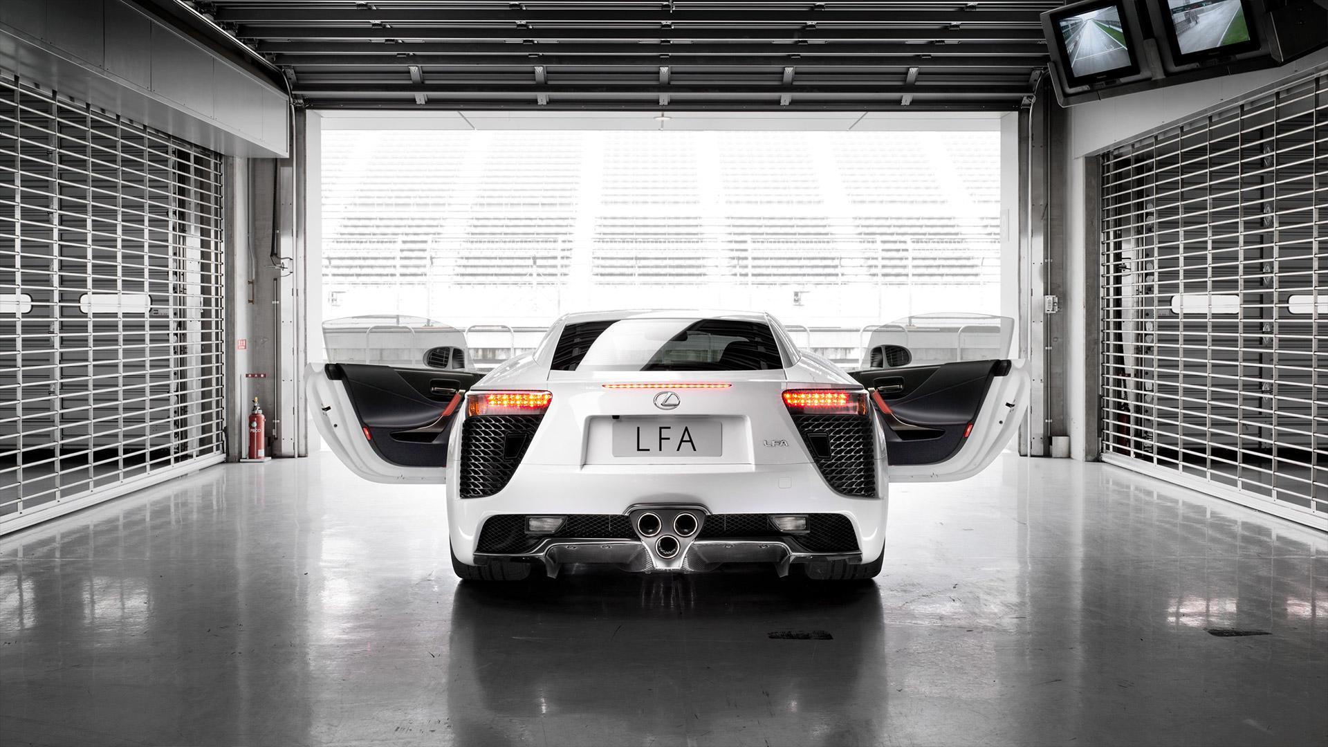 nieuwe lexus LFA