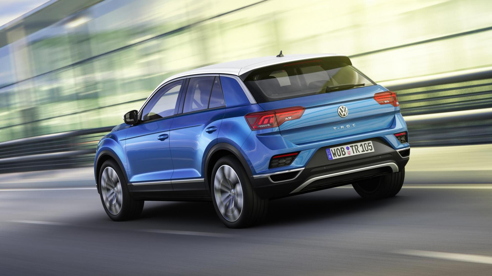 Volkswagen T-Roc onthuld (eind 2017 leverbaar) - TopGear Nederland