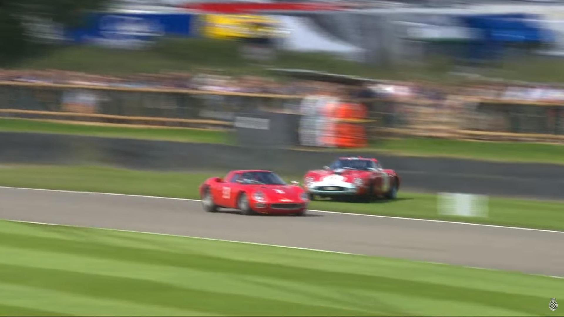 Ferrari 250 GTO crasht