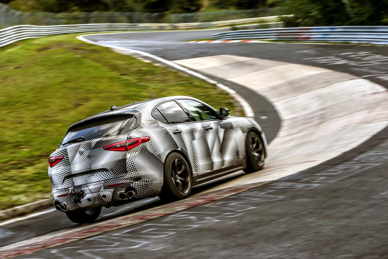 Alfa Romeo Stelvio is de snelste SUV op Nürburgring