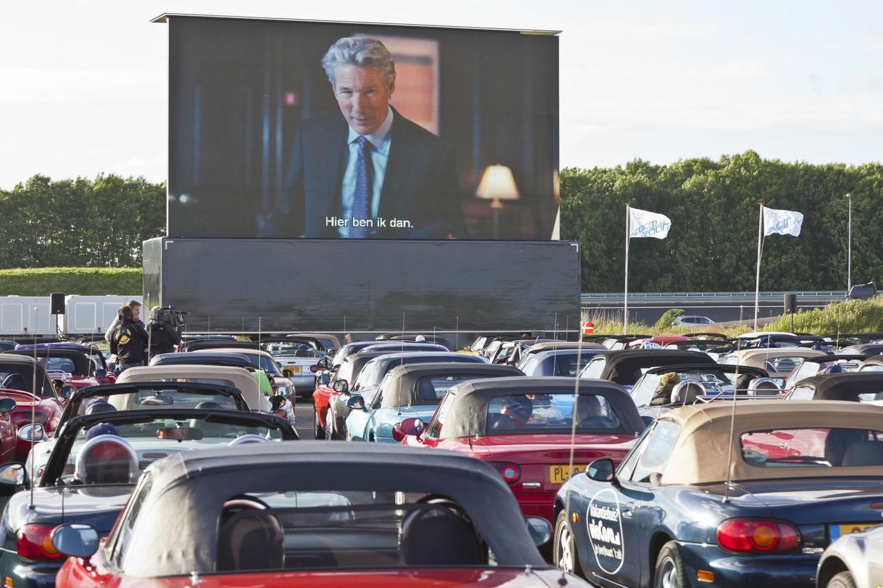 tijdelijk drive in bioscoop in nederland topgear nederland