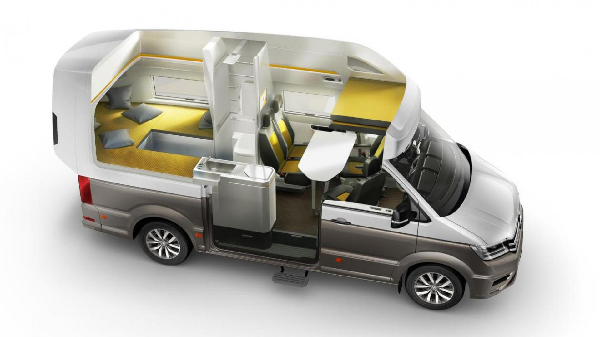 de vw california xxl is een glorieuze glamping op wielen topgear. Black Bedroom Furniture Sets. Home Design Ideas