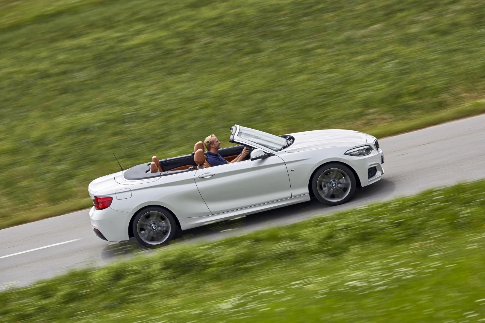 BMW 220d Cabrio M Sport