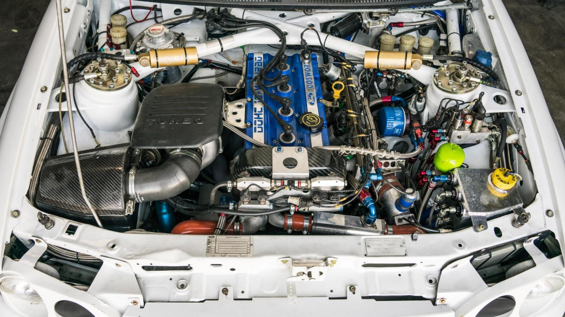 Ford Escort Cosworth is Ken Blocks nieuwe speeltje