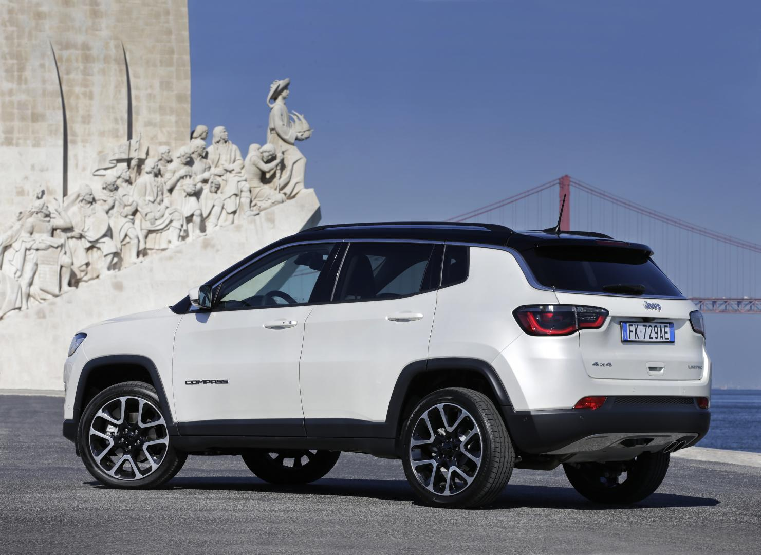 Jeep Compass 1.4 MultiAir Limited A9 4x4 (2017)