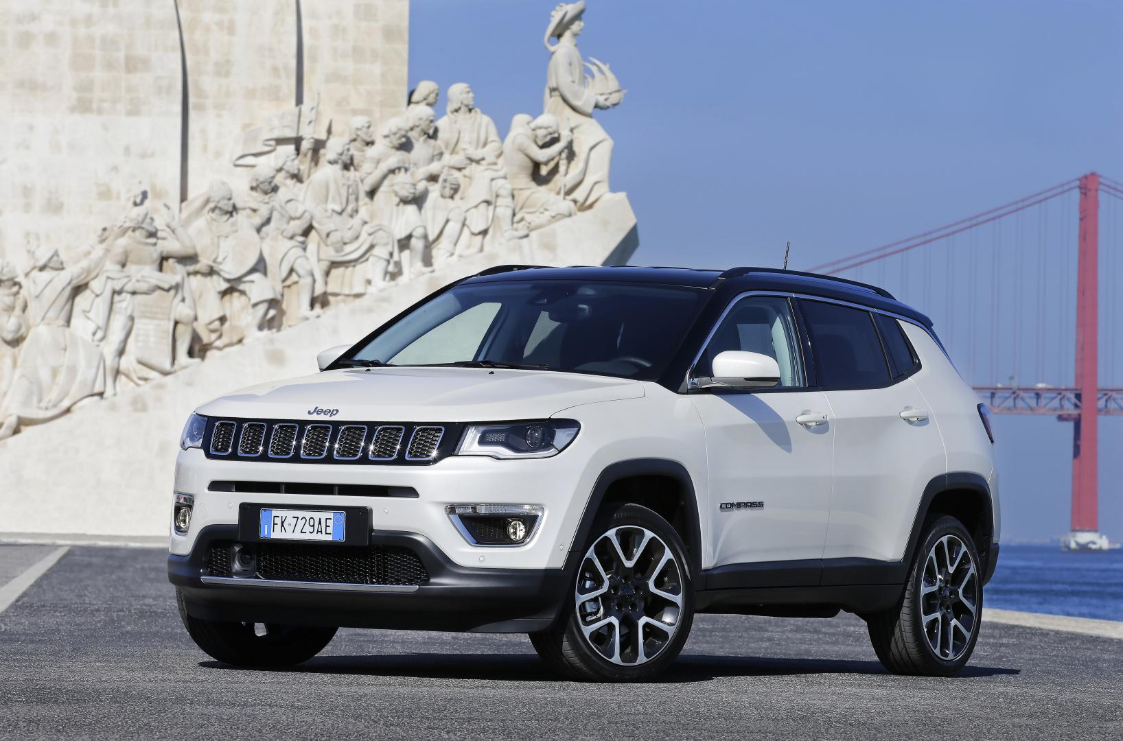 jeep compass 1 4 multiair limited a9 4x4 2017 test en specificaties topgear. Black Bedroom Furniture Sets. Home Design Ideas