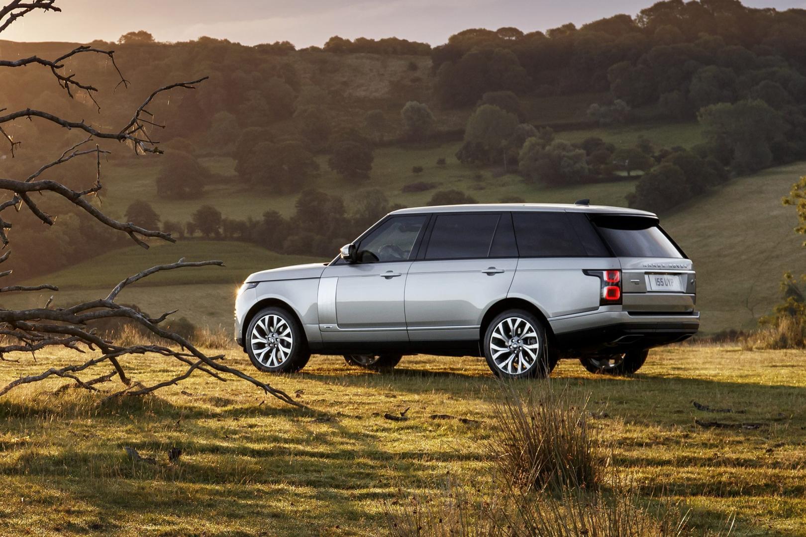Range Rover Facelift: de belangrijkste getallen