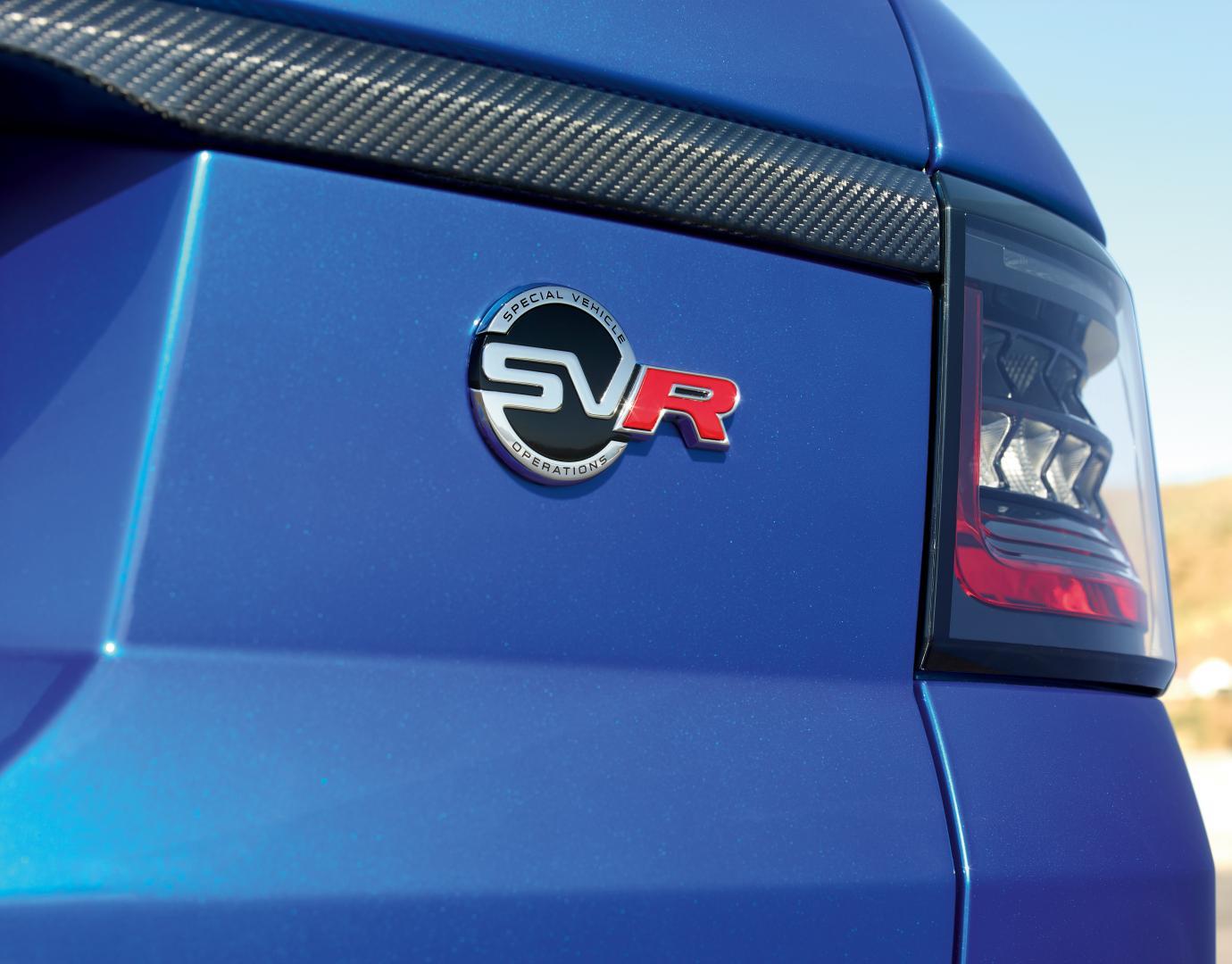 Land Rover Range Rover Sport SVR Facelift 2017