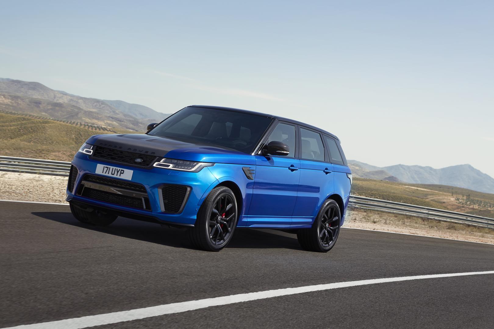 Land Rover Range Sport Svr Facelift 2017