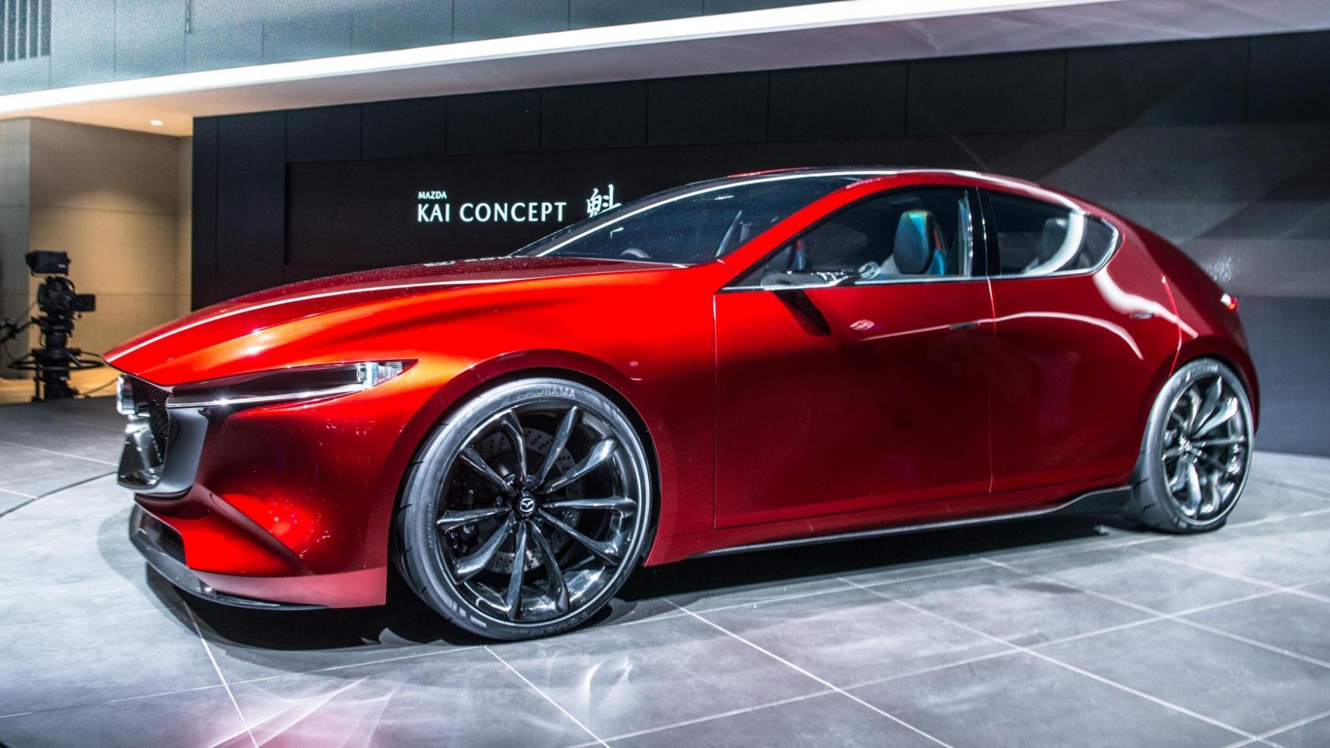 Mazda 3 Kai >> Mazda Kai Concept is een Mazda 3 - TopGear Nederland