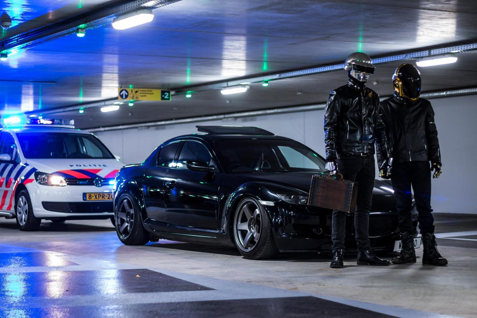 photoshoot Daft Punk te zijn