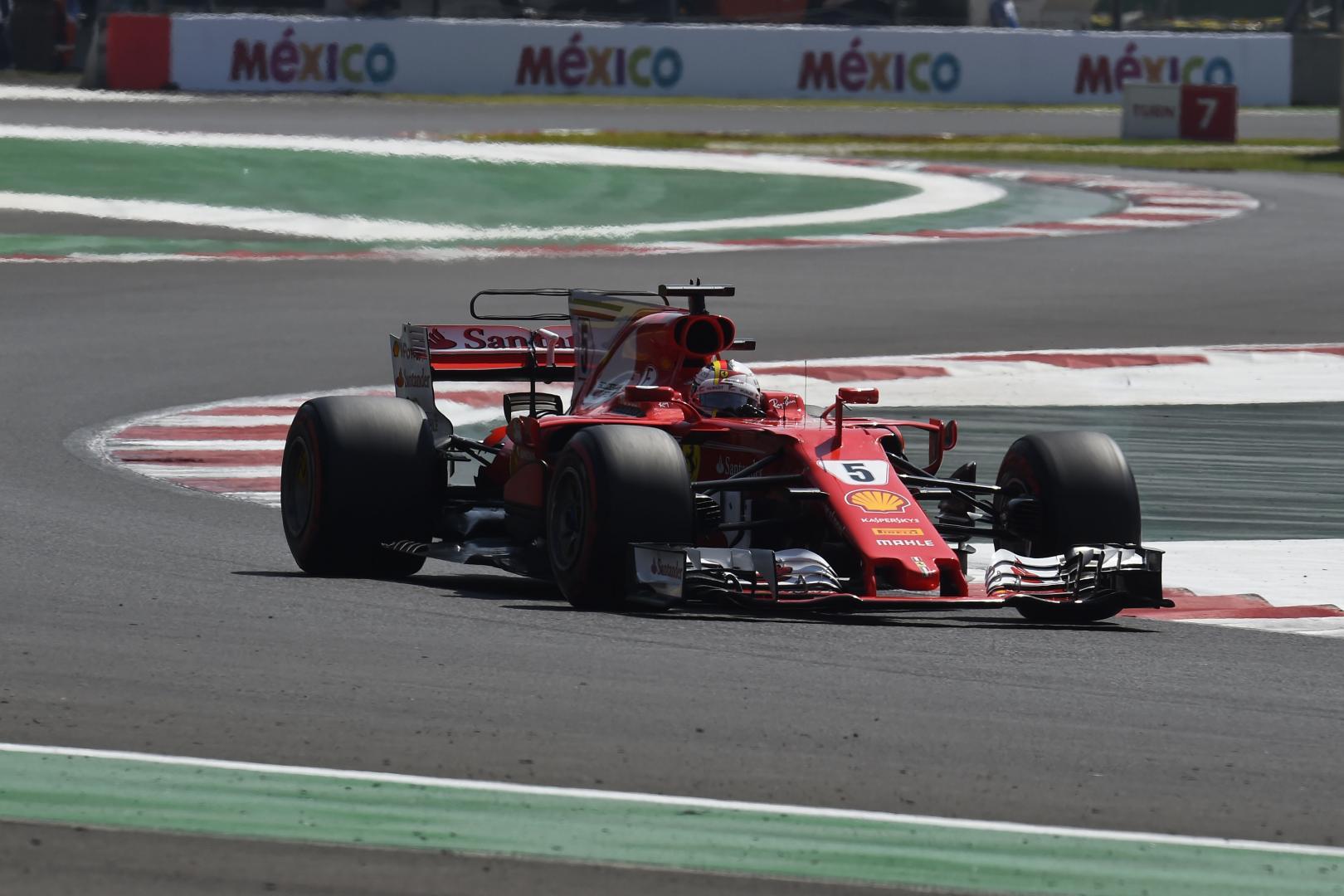 Uitslag van de GP van Mexico 2017