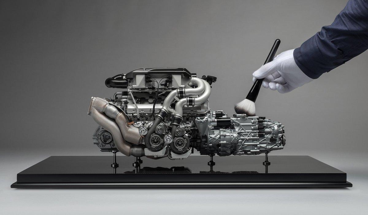 motor schaalmodel