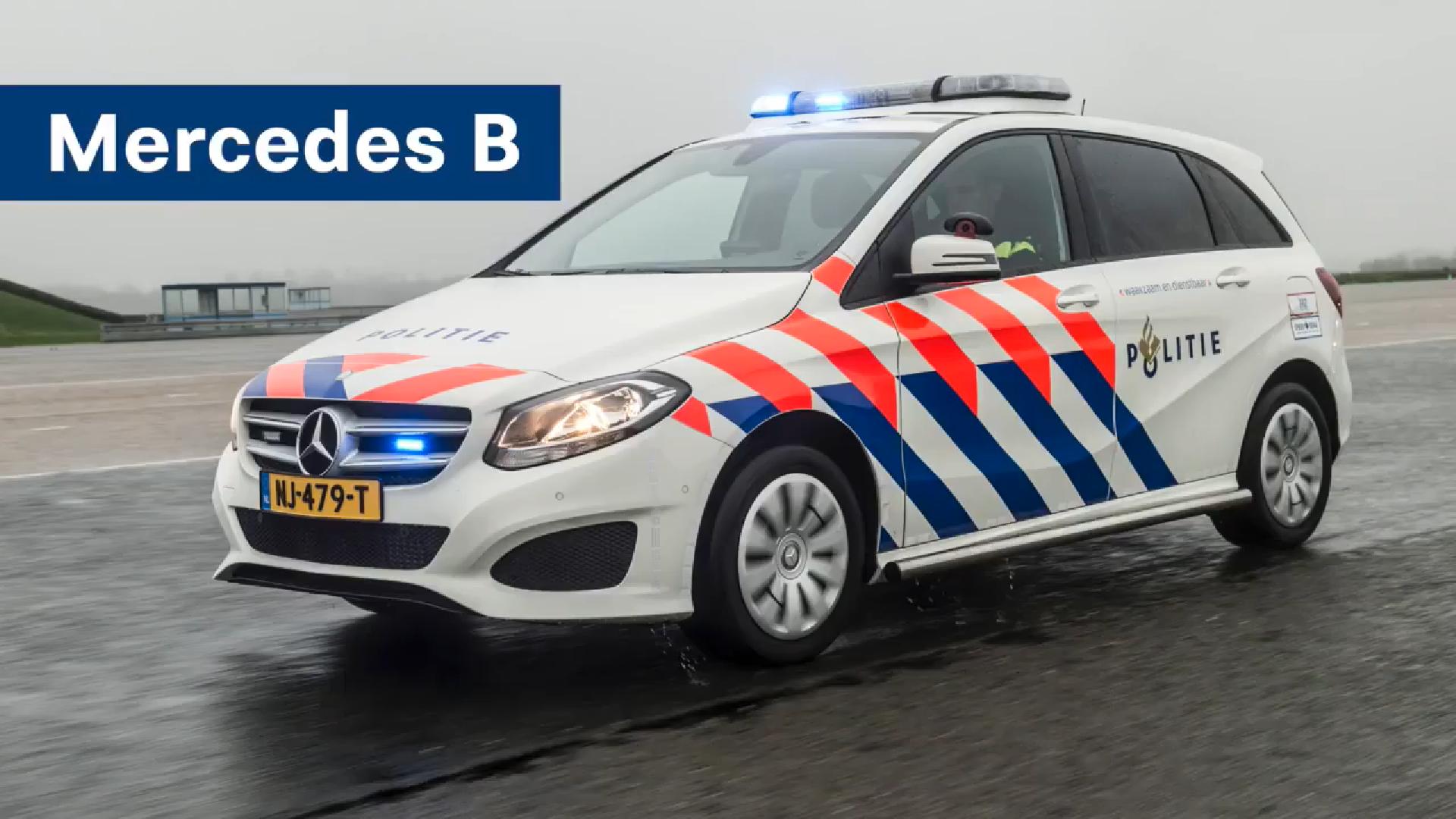 Dit Zijn De Nieuwe Mercedes Politieauto S Van Nederland