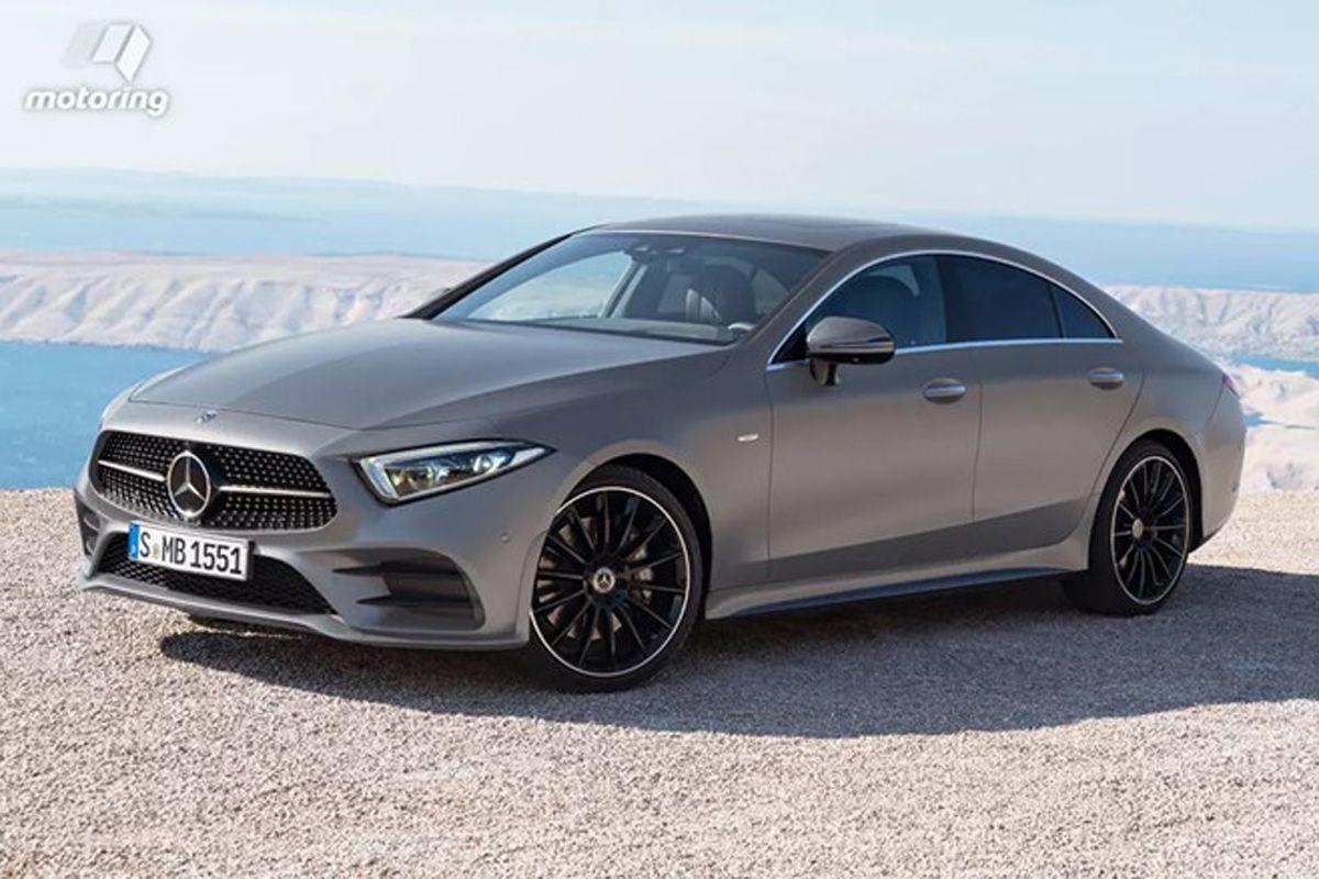 Nieuwe Mercedes CLS is gelekt