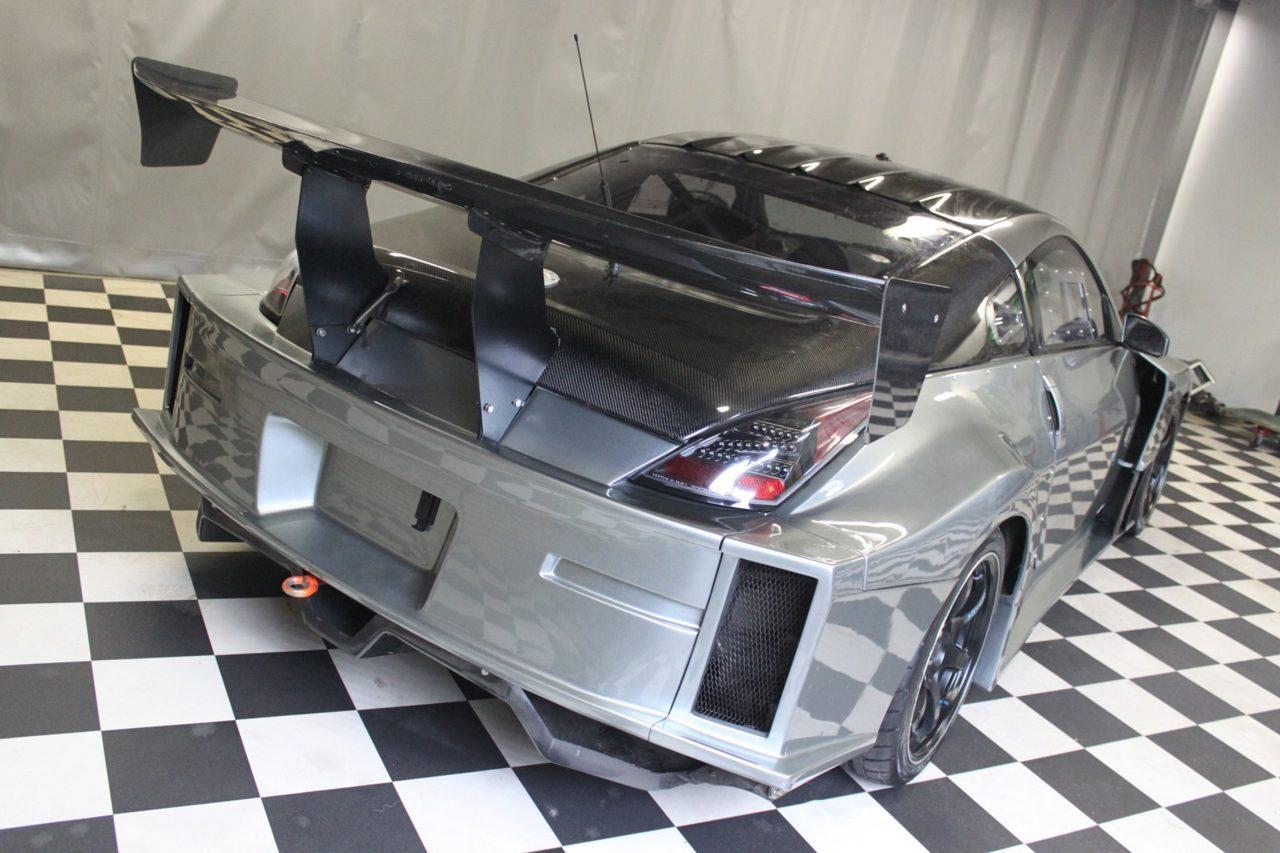 Nissan 350Z met V8