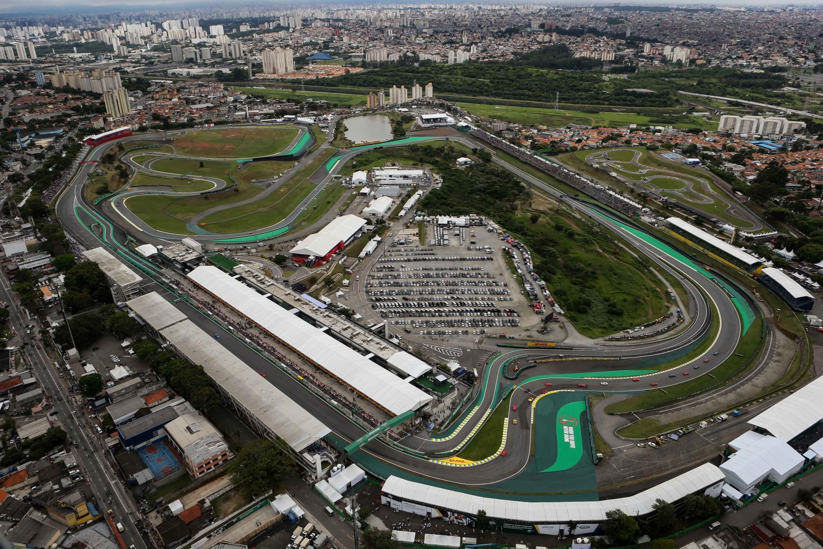 Uitslag van de GP van Brazilië 2017