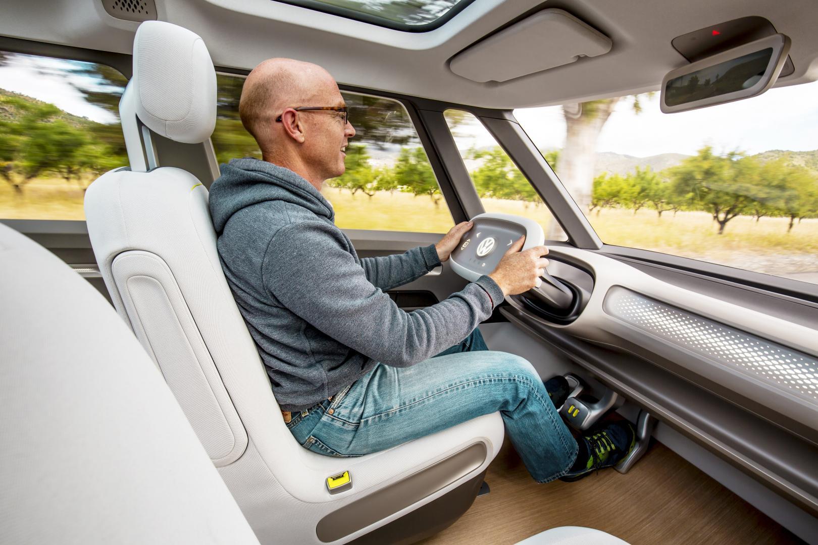 Volkswagen I.D. Buzz interieur (2017)