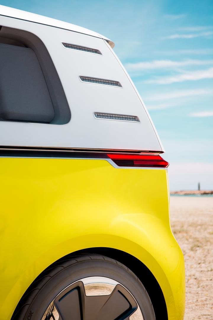 Volkswagen I.D. Buzz achterkant (2017)