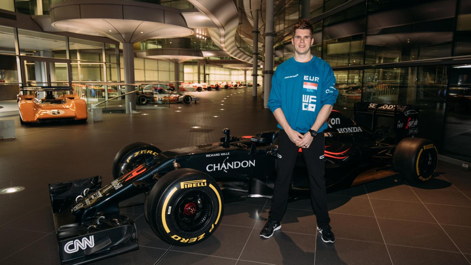 winnaar van McLaren's World's Fastest Gamer