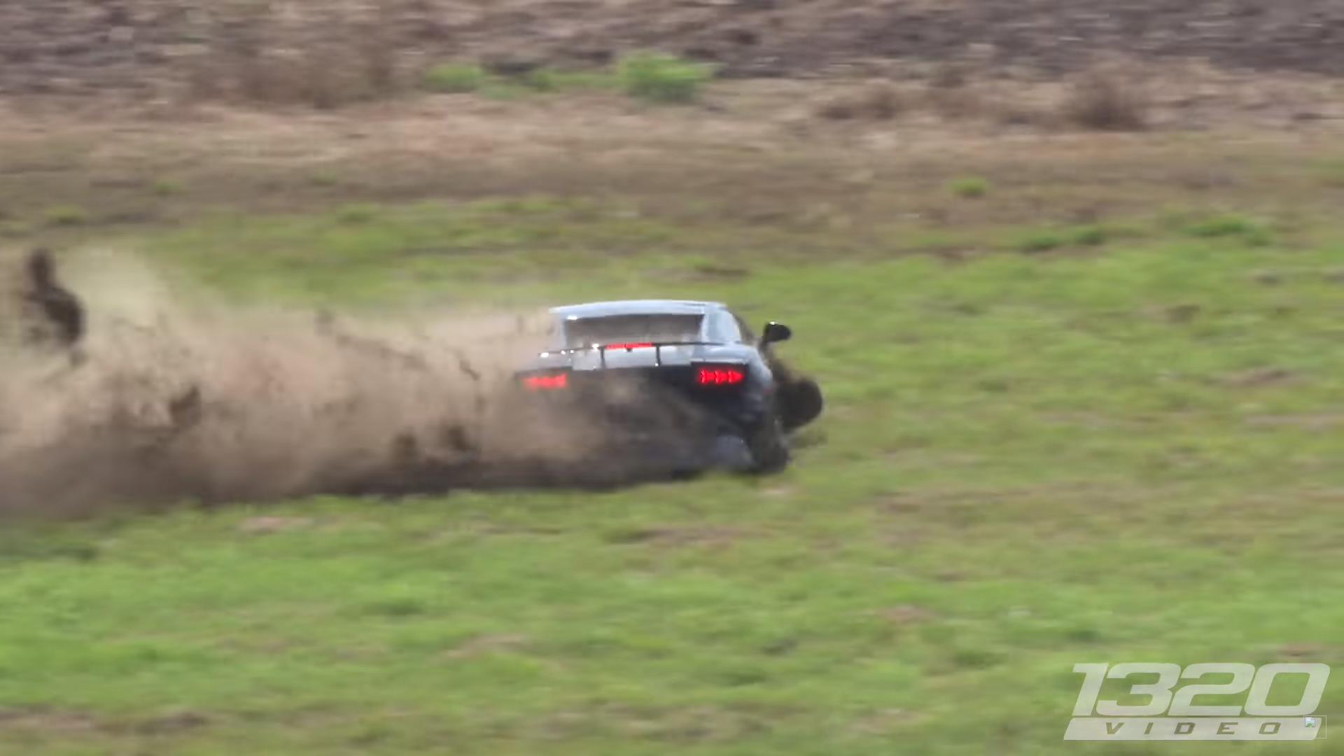 Lamborghini met 2.000 pk crasht bij 320 km/u