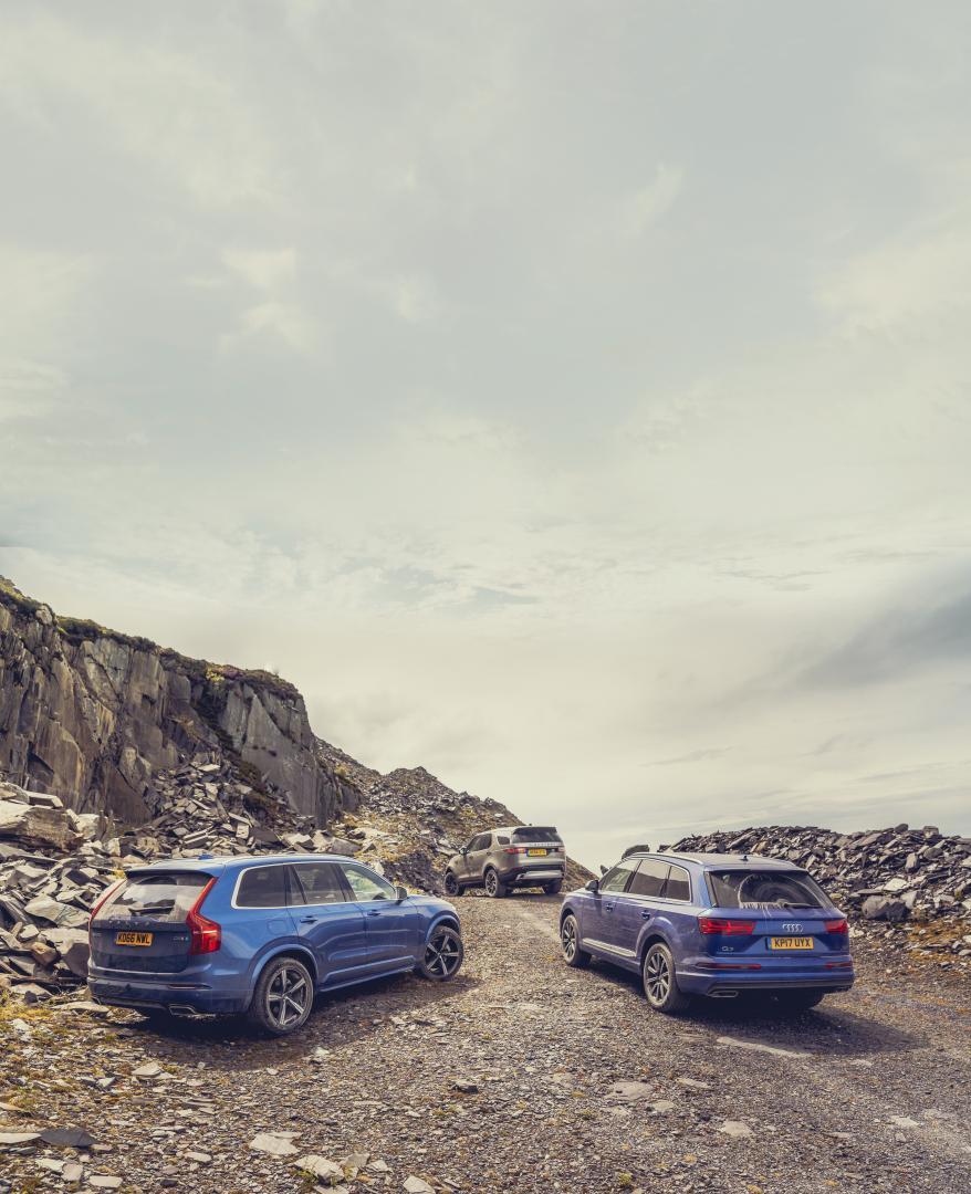 Land Rover Discovery vs zijn rivalen