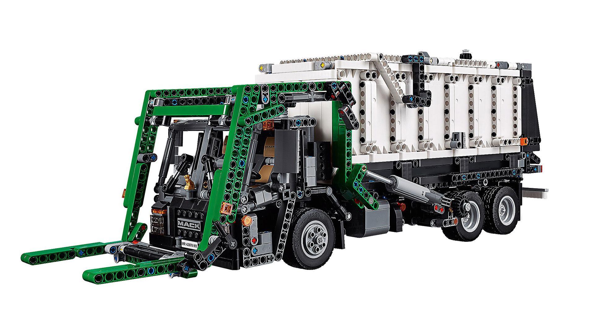 Beste Mack-vrachtwagen van Lego is twee vrachtwagens tegelijk - TopGear QB-13