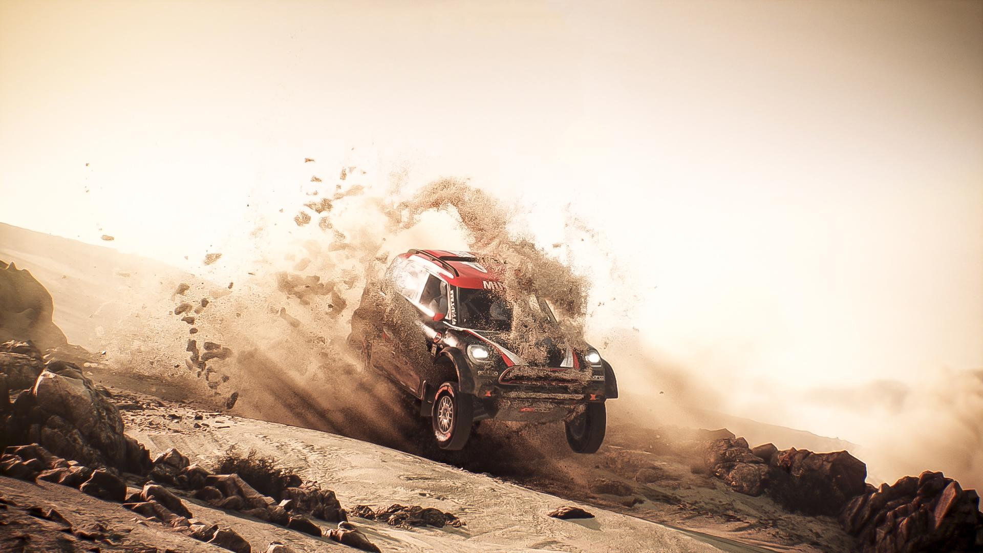 Dakar 18 game screenshot