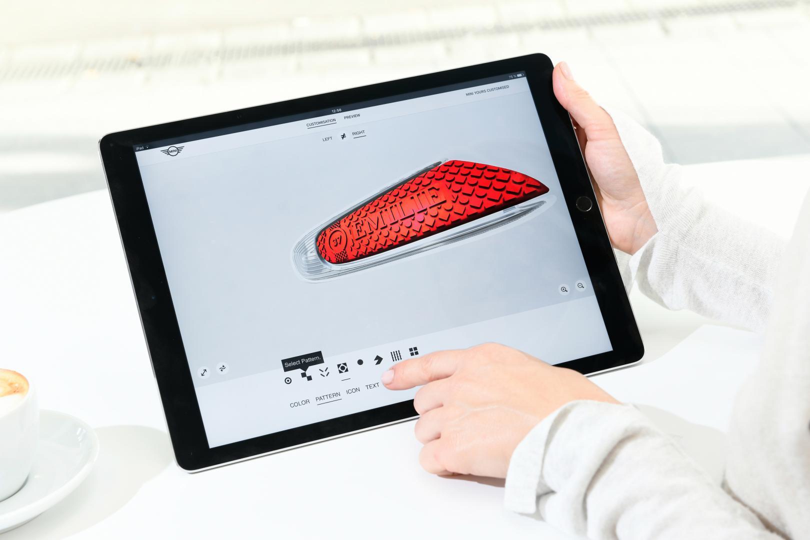 Mini 3D-print nu jouw ontwerpen voor het dashboard