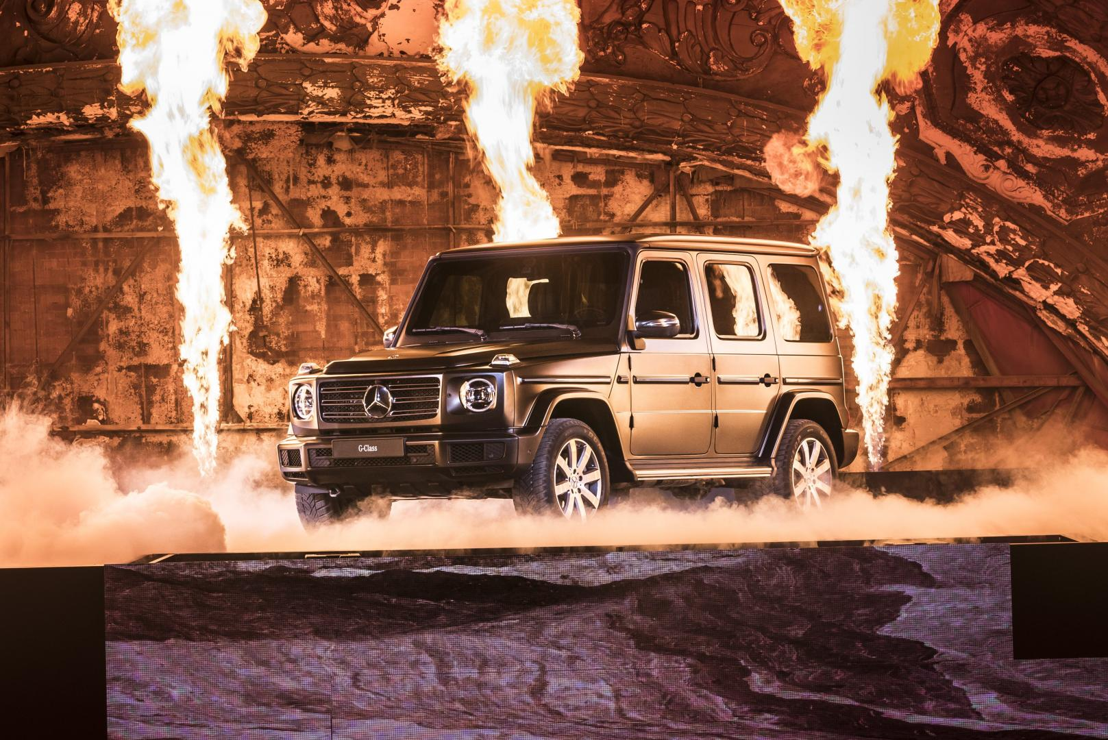 De nieuwe Mercedes G-klasse 2018 verschillen