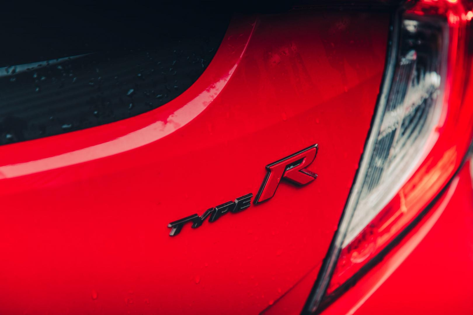 Honda Civic Type - R badge logo