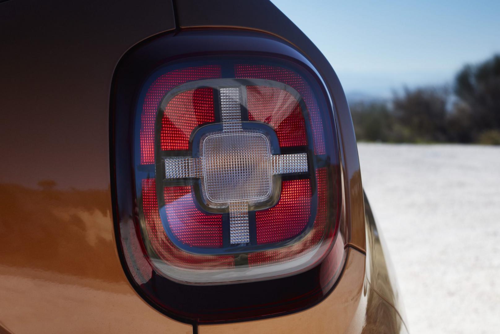 Dacia Duster achterlicht