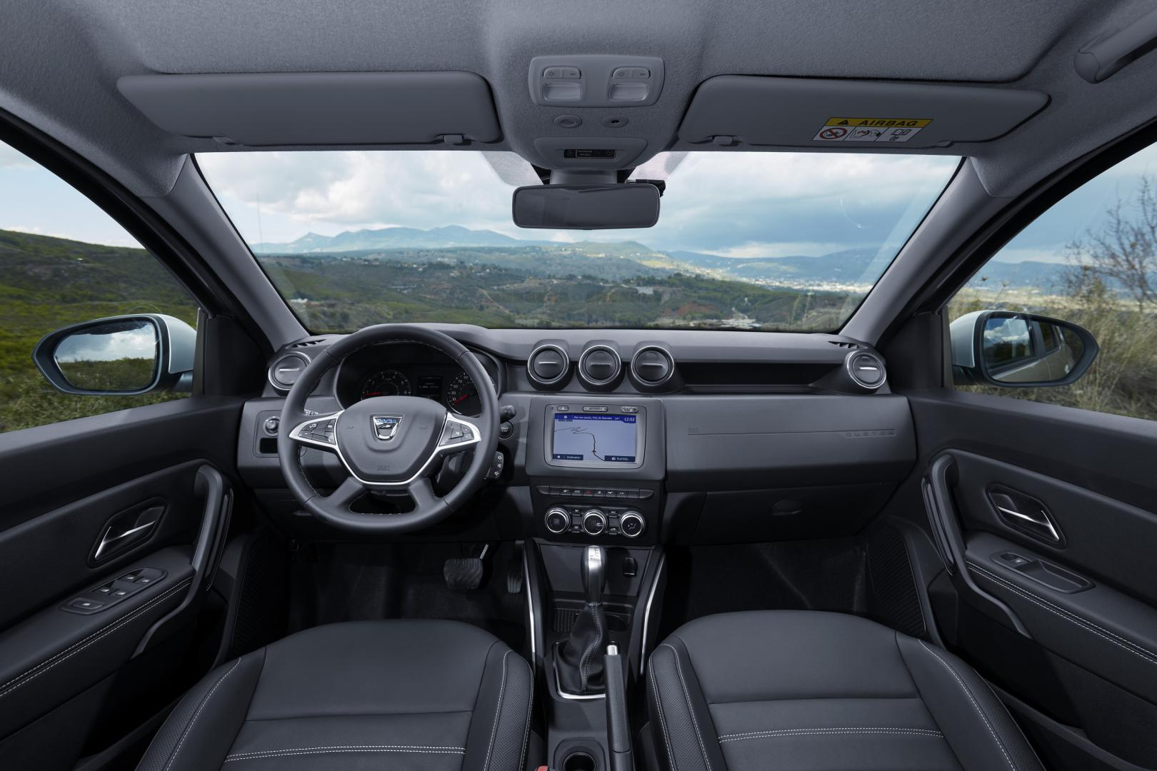 Dacia Duster interieur