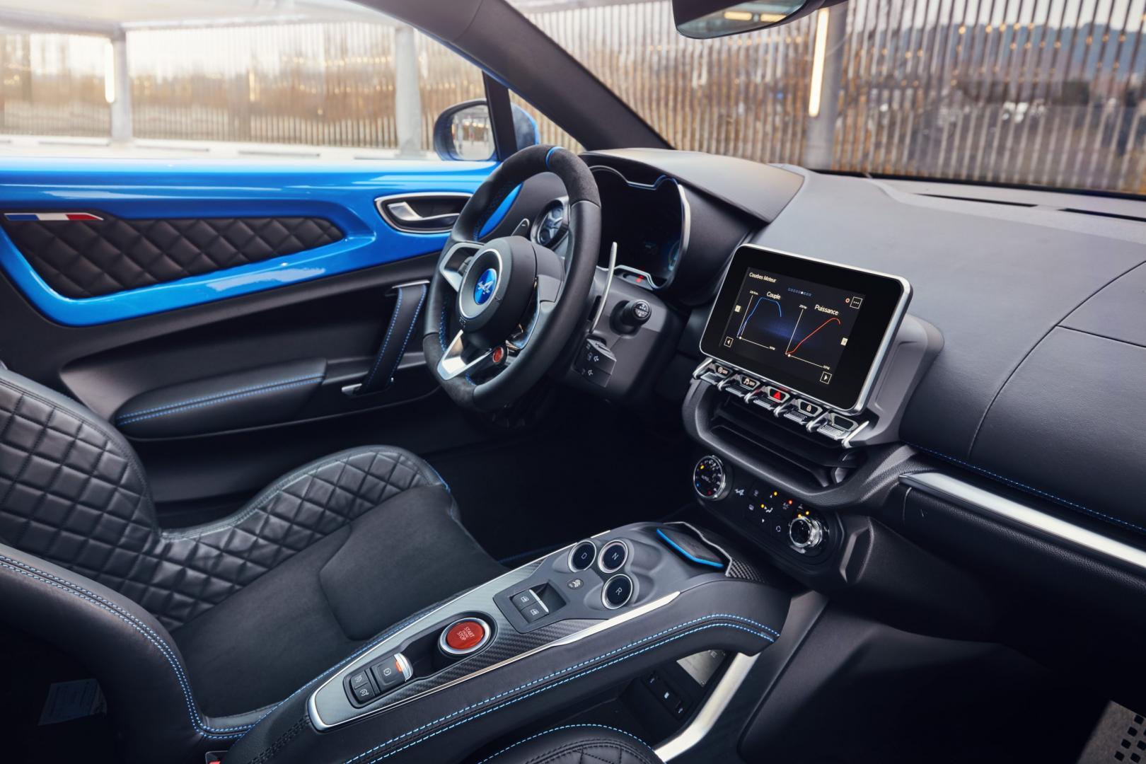 Alpine A110 Première Edition interieur (2018)
