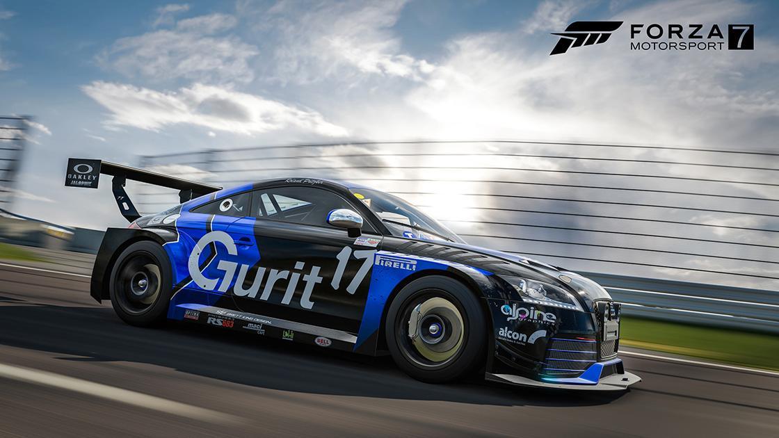 Audi TT RS Racing