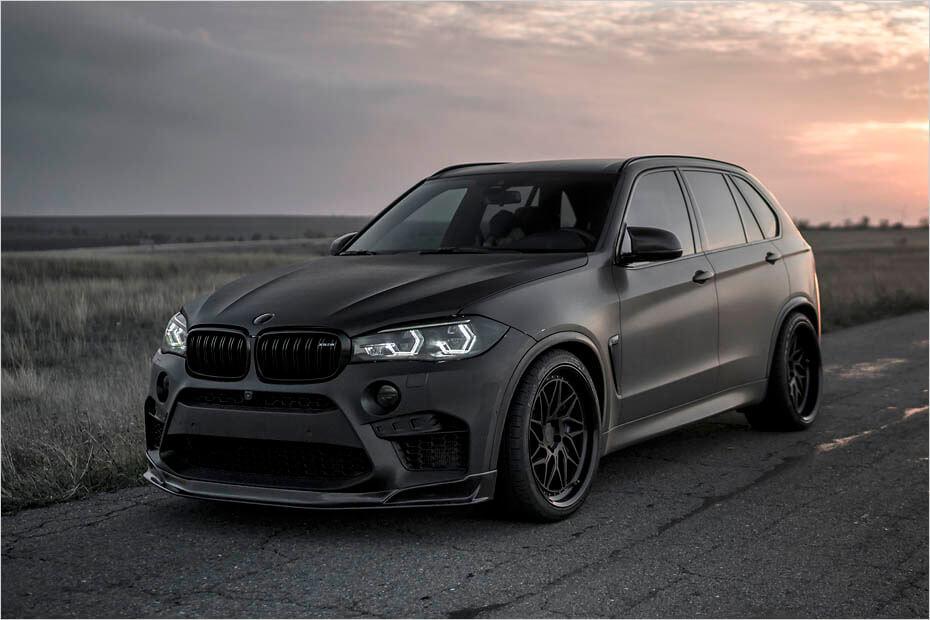 Deze BMW X5M is zwarter dan de ziel van je ex