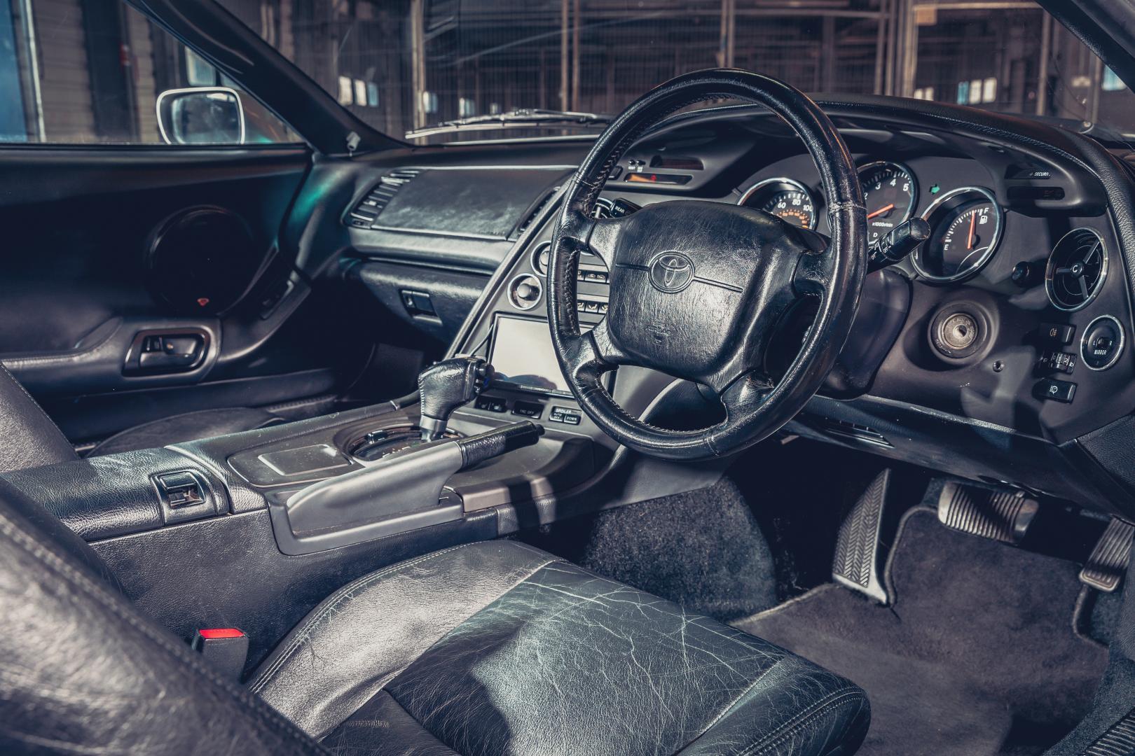 De gewichtsbesparing van de oude Toyota Supra ging ver