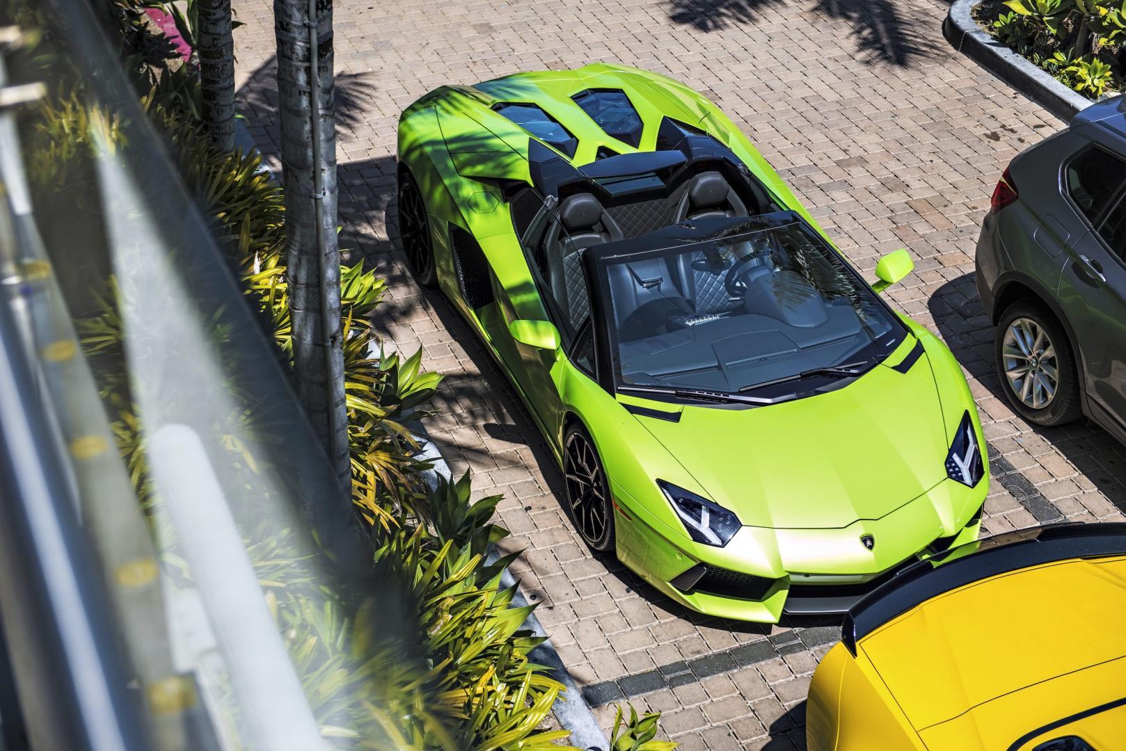 Lamborghini Aventador Roadster (2015)