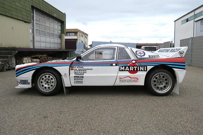 Winnende Lancia 037 van Walter Röhrl te koop