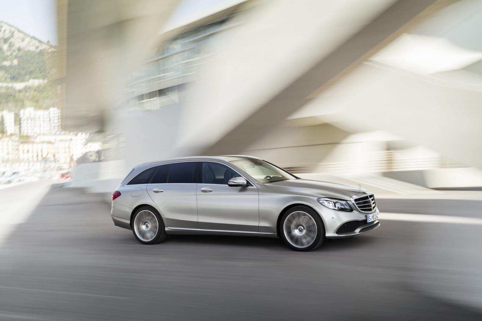 Mercedes C-klasse facelift is hier